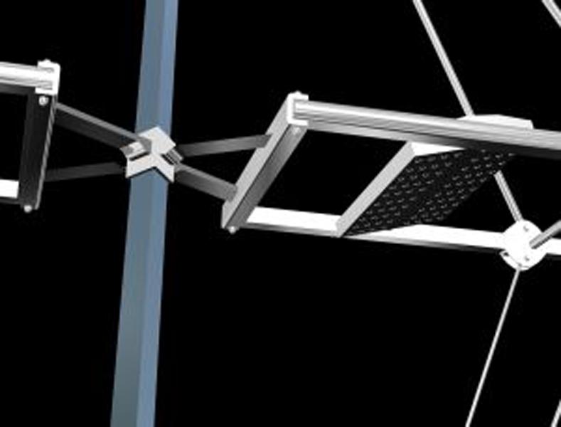 Palo di illuminazione fotovoltaico a led u2013 kon tiki u2013 paolo di pasquale